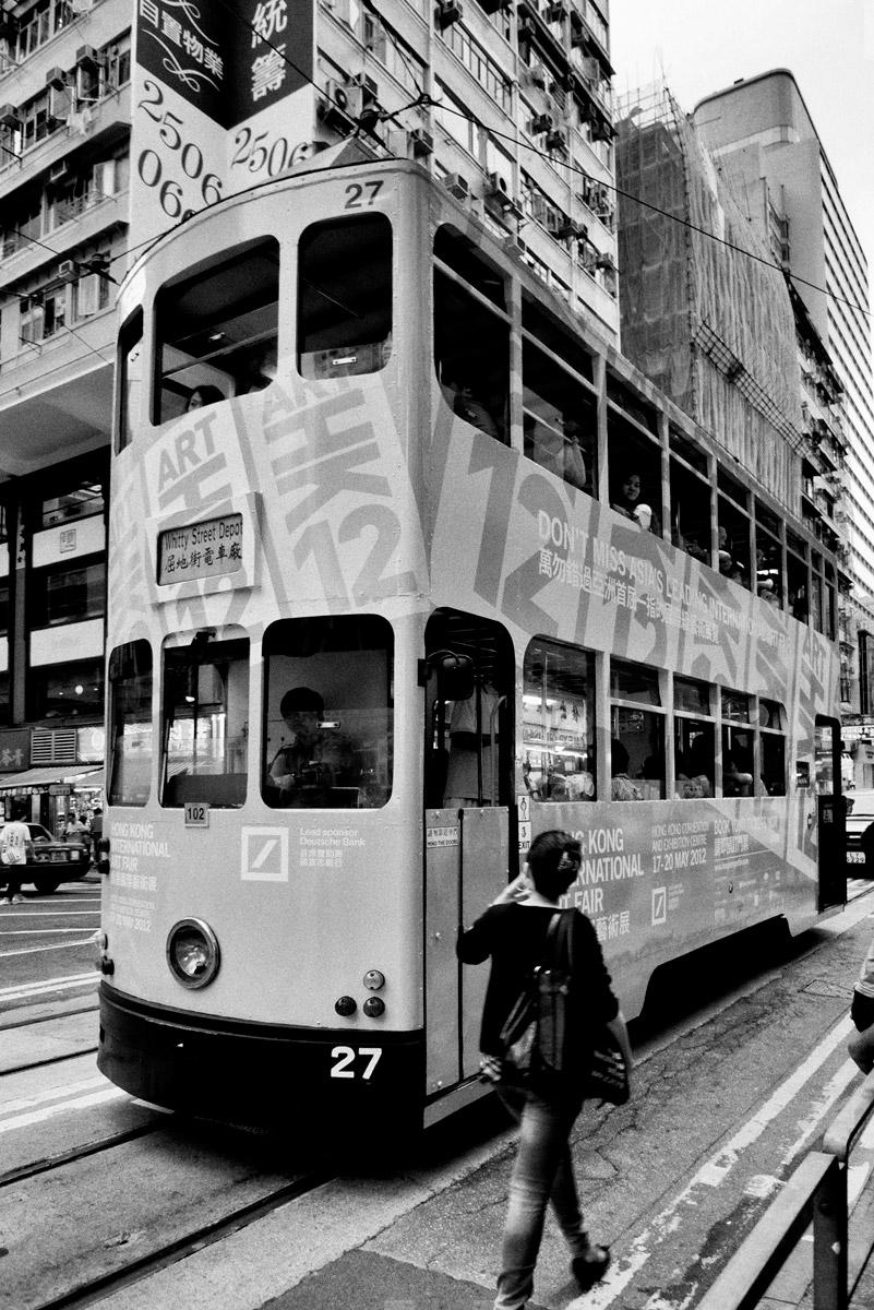 Двухэтажный трамвай, Гонконг
