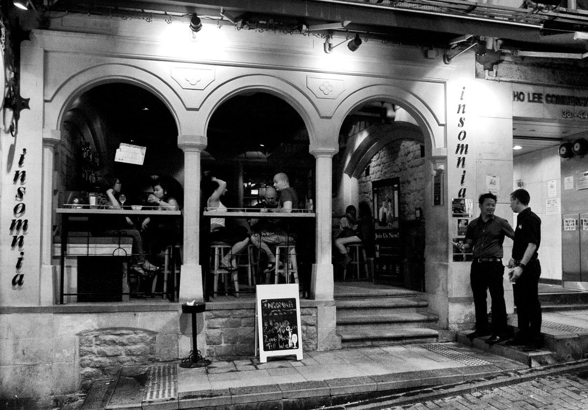 Lan Kwai Fong, Гонконг,  май, 2012 г.