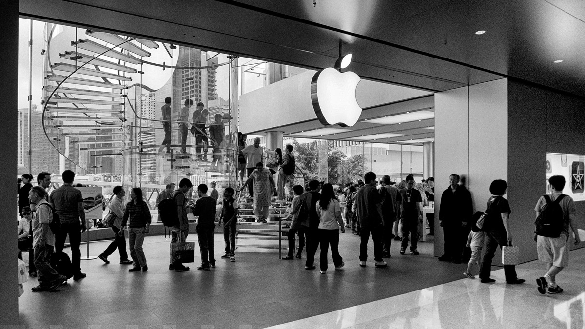 Apple Store, Гонконг,  май, 2012 г.