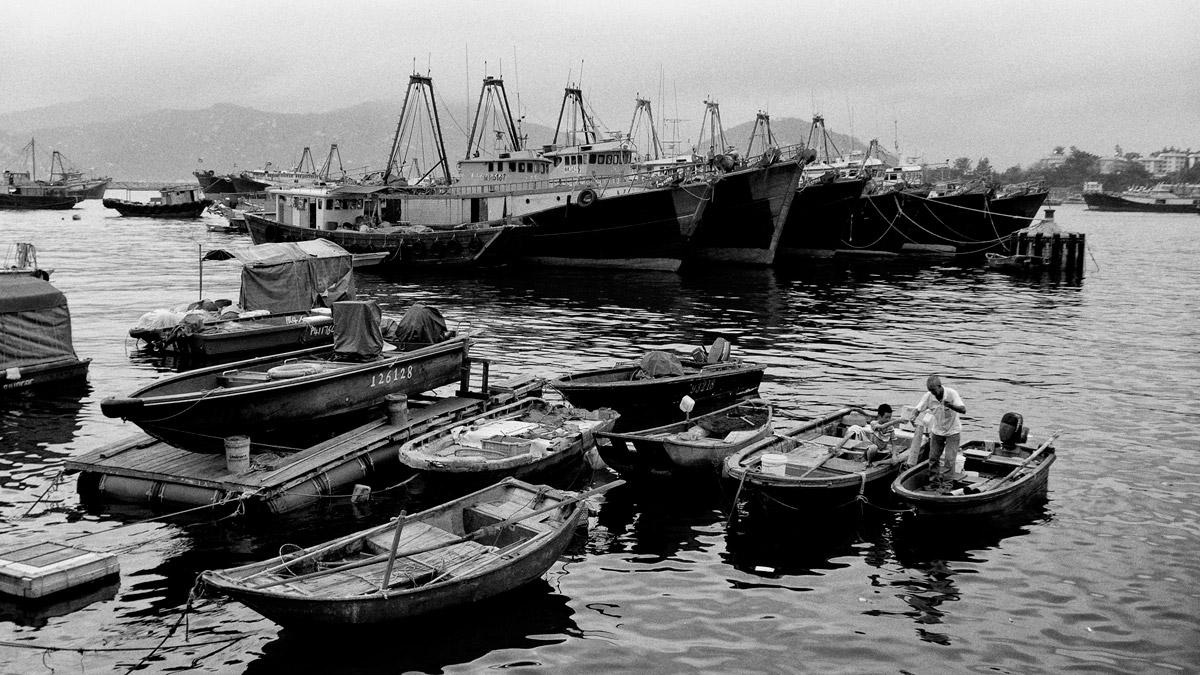 Рыбатская деревня, оторов Ченг Чау, Гонконг