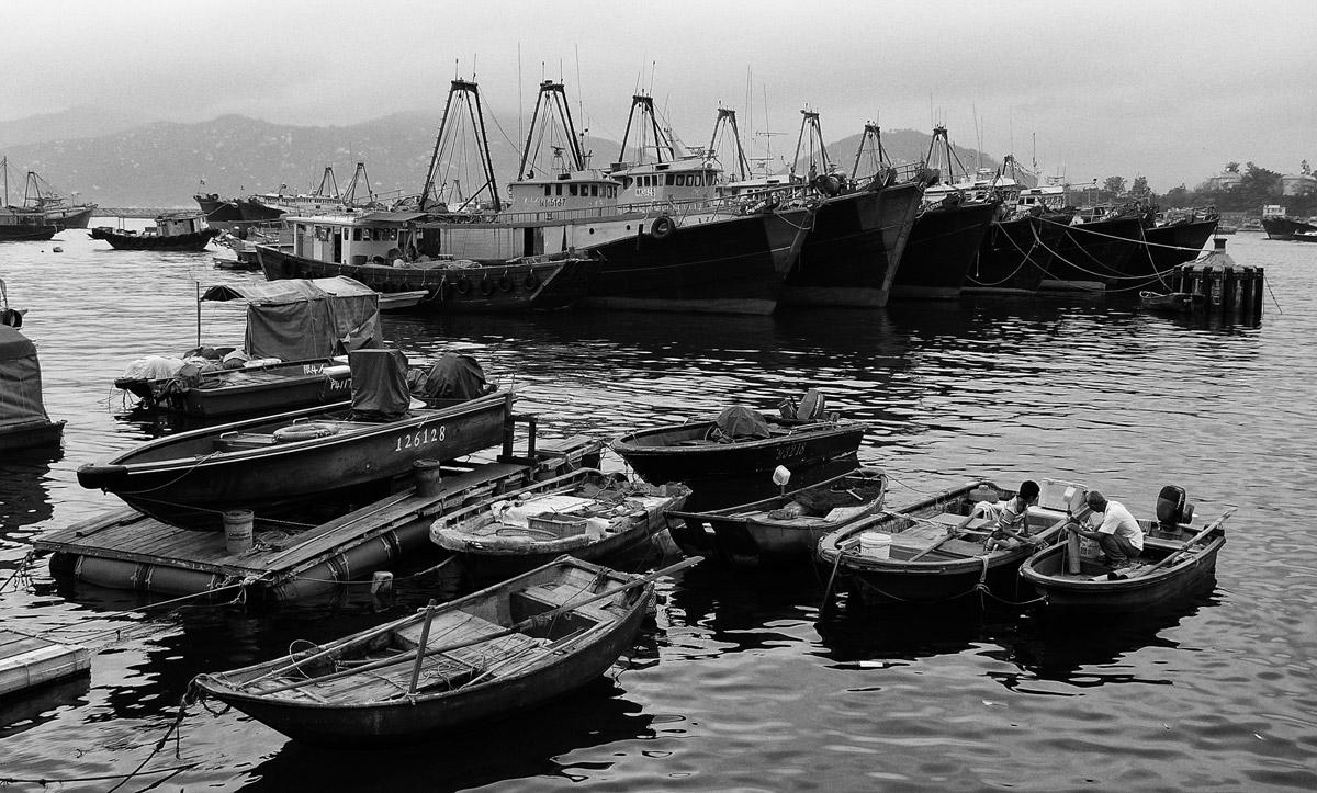 Рыбацкая деревня, остров Ченг Чау, Гонконг