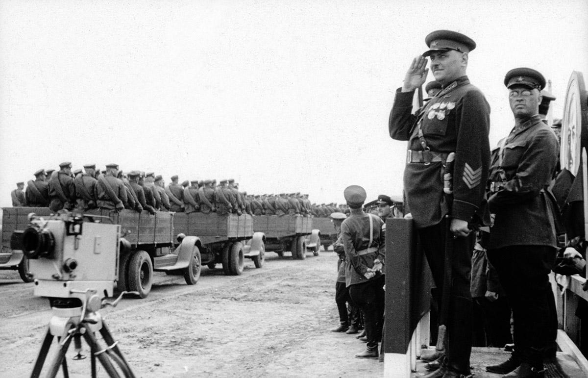 Хасанские бои, 1938 год. фотограф А. Кушешвилли