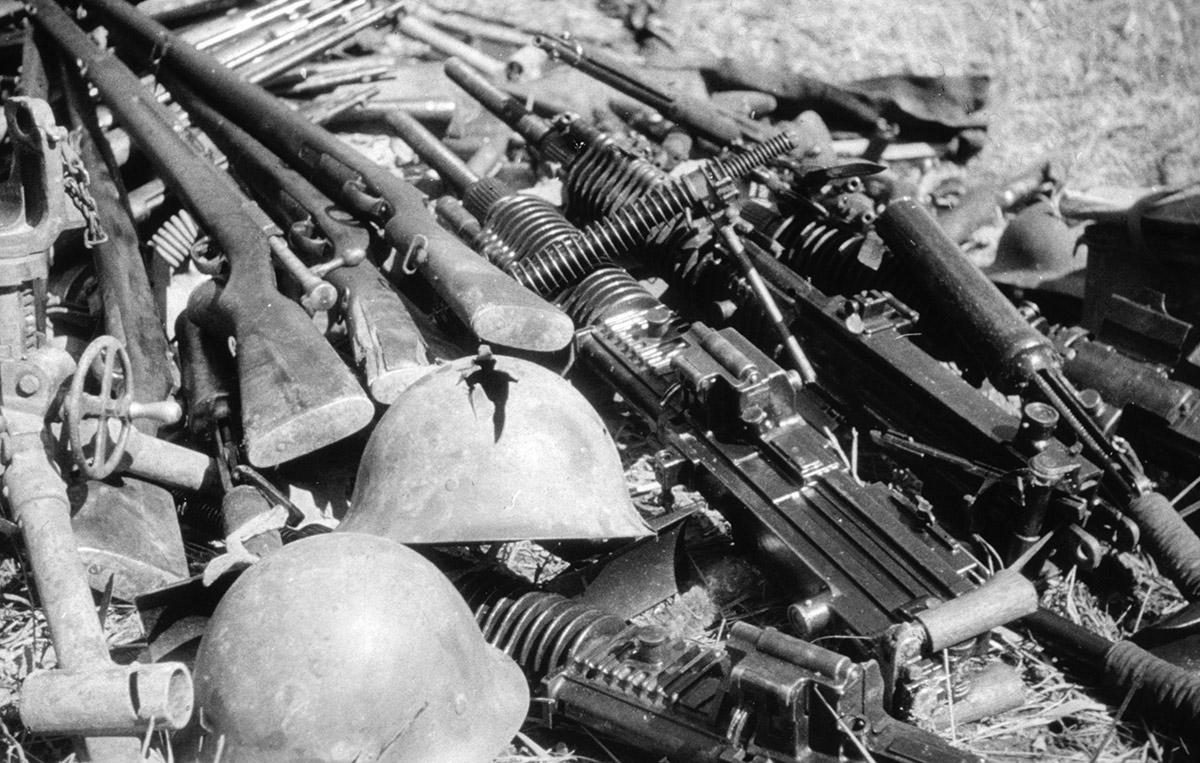 Японские трофеи. Хасанские бои, 1938 год.