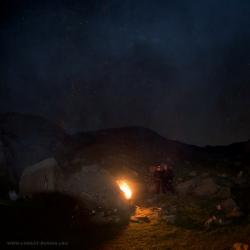 Ночь в горах, Кавказ, Ачишхо, The Caucasus Mountains, Achishkho