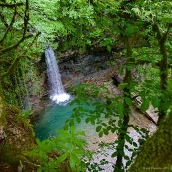Нижний Ажекский водопад