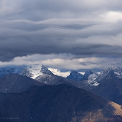 Первый снег на Кавказе, First snow in the Caucasus