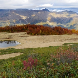 У Метеостанции, Осенний Кавказ, Autumn Caucasus, Ачишхо, Achishkho