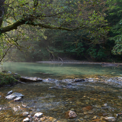 Слияние рек Ажек и Сочи