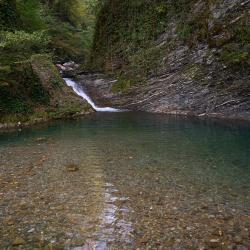 Эко-тропа Ажек, река Ажек