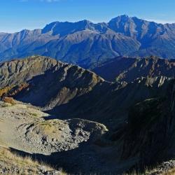 Панорама, Кавказ, Ачишхо, The Caucasus Mountains, Achishkho