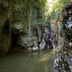 Агурские водопады, Чертова купель