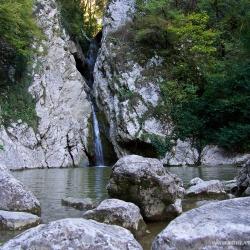 Агурские водопады, второй водопад
