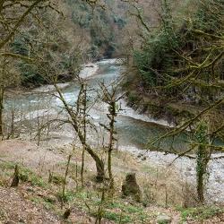 Слияние рек Сочи и Агва