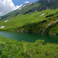 Кавказский Заповедник, озеро Малое