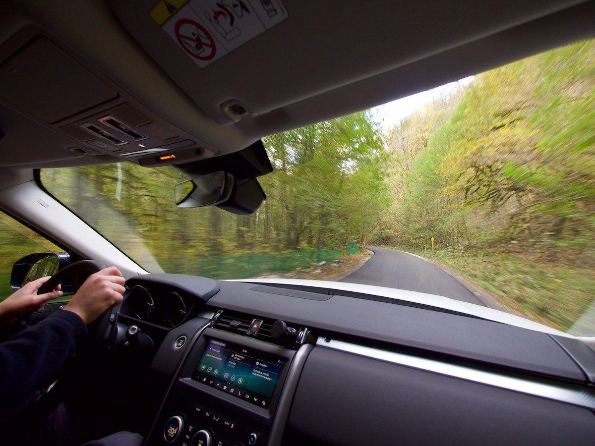 За рулем Land Rover