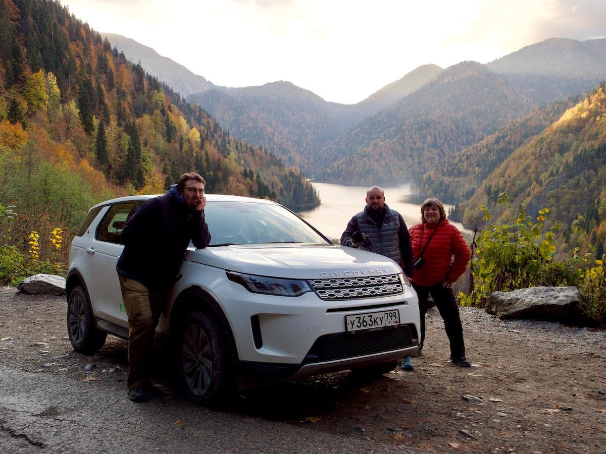 Озеро Рица, «Открывая Россию» – Land RoverExperience