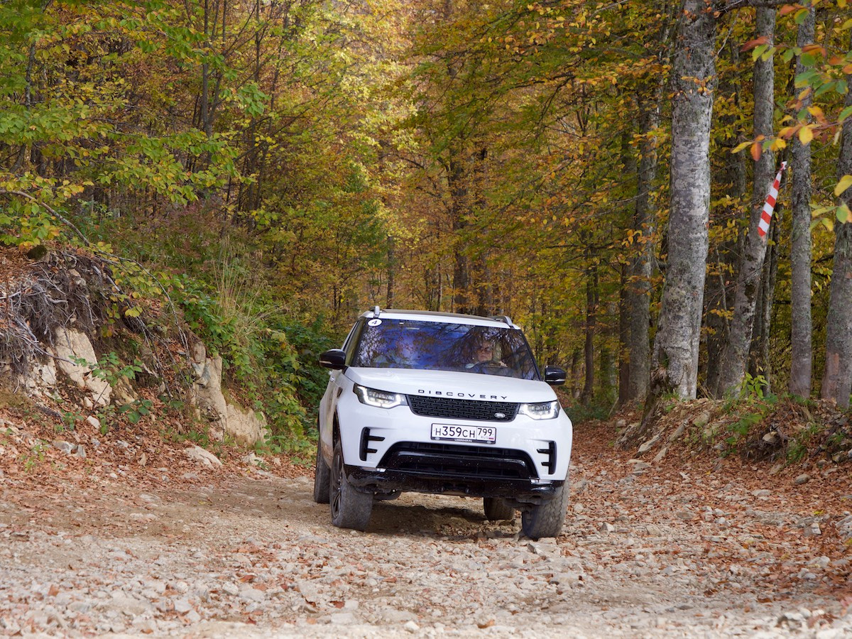 Land Rover в Сочи
