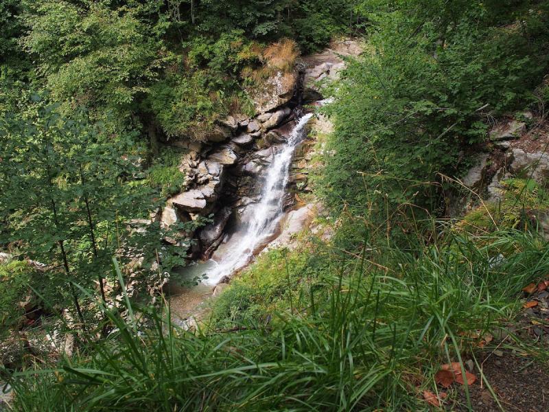 Водопад. Парк водопадов «Менделиха»
