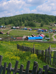 Республика Башкортостан. Деревня.