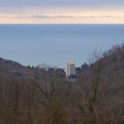 Сочи, вид со стороны Орлиных скал, 20 января, 2019 год.