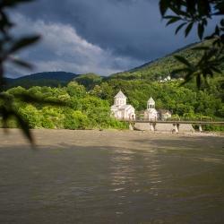 Пластунский мост и Храм