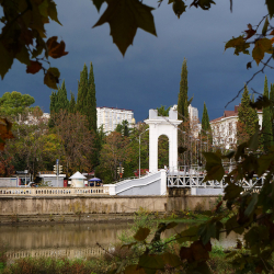 Мост через реку Сочи