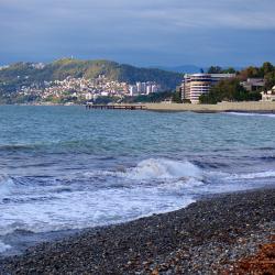 Сочи, пляж «Ривьера» в центральном районе