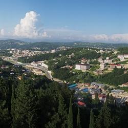Панорама Сочи, июнь 2014