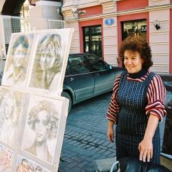 Москва, Старый Арбат 02