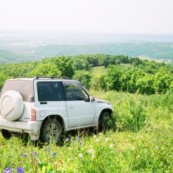 Suzuki Escudo на фоне Приморья