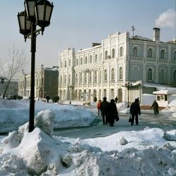 Уссурийск, старый центр, 2005 год