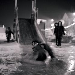 Уссурийск, Ледовый городок, 2005 г.