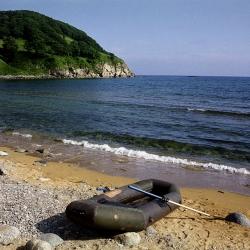 Японское море недалеко от Находки, Приморский  край, 2003 год.