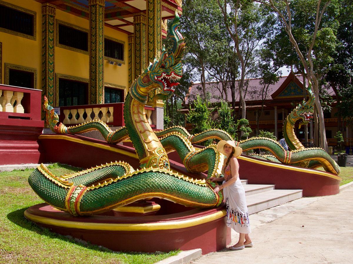 Драконы, Wat Maha That Wachiramongkol