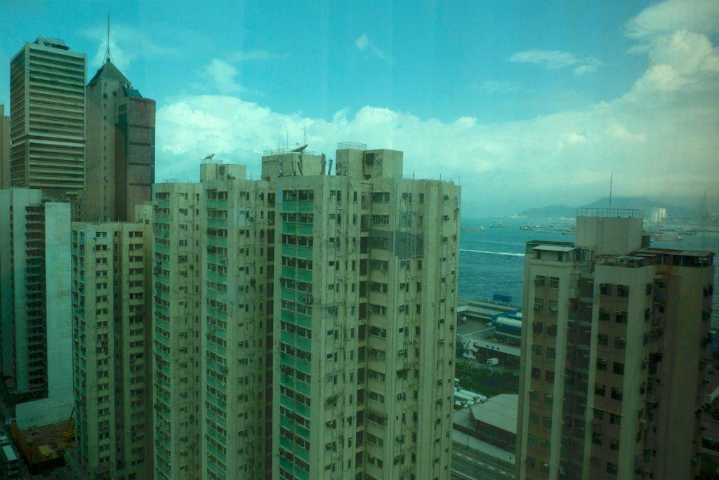 Гонконг, вид из окна Гостиницы